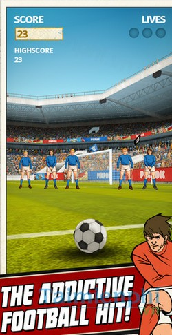 download flick kick football kickoff cho android