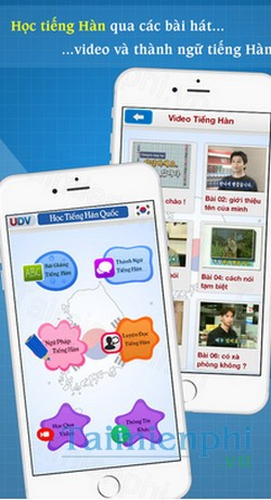download hoc tieng han cho iphone