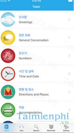 download learn korean daily cho iphone