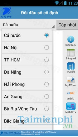 download vnpt update contact cho iphone