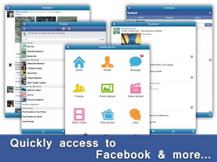 Quickly for Facebook for iPad