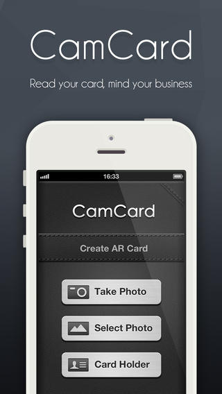 Camcard business card reader for ipad chp nh danh thip trn ipa camcard business card reader for ipad reheart Gallery