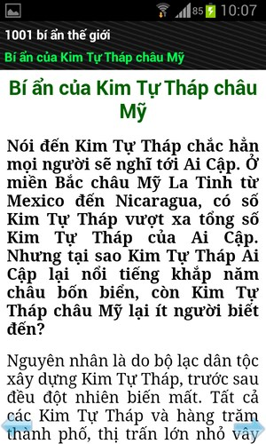 1001 bí ẩn for Android