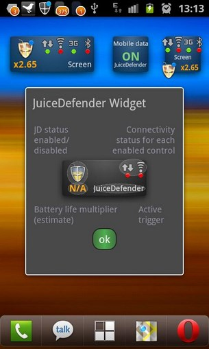 JuiceDefender for Android