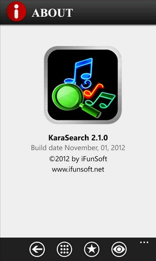 KaraSearch for Windows Phone