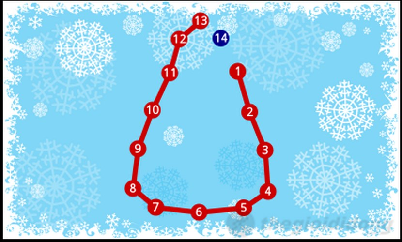 Kids Connect the Dots Xmas for Windows Phone
