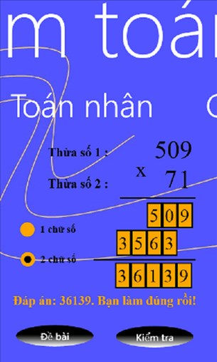 Toan for Windows Phone