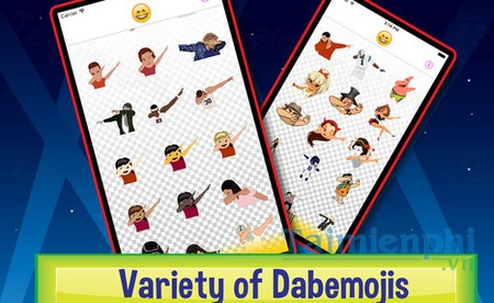 download dabmoji cho iphone