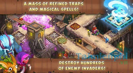 download gnumz masters of defense td cho iphone