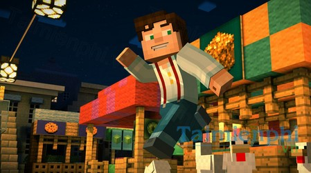 download minecraft story mode cho iphone