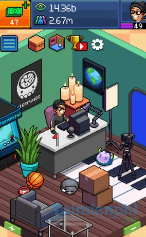 download pewdiepie tuber simulator cho iphone