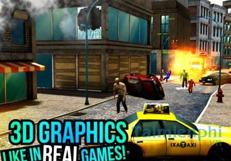 download sniper vs zombies cho iphone