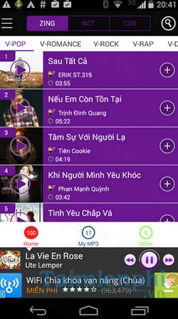 download trum mp3 cho android