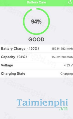 download battery care cho iphone