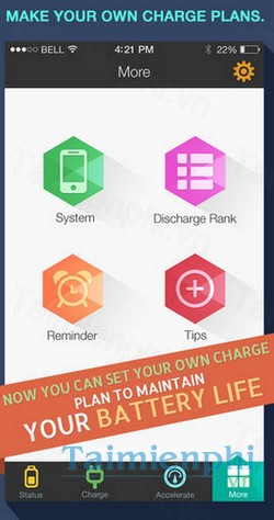 download battery max pro cho iphone