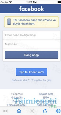 download facebook messenger cho iphone