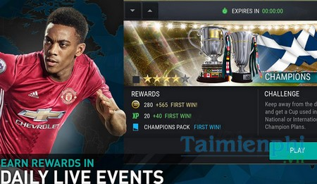 download fifa mobile soccer cho android