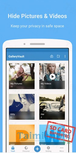 download galleryvault cho android