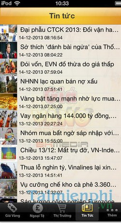 download gia vang pro cho iphone