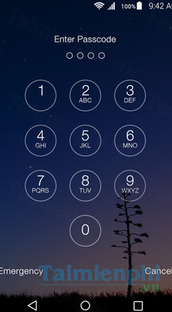 download lock screen os9 cho android