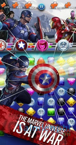 download marvel puzzle quest cho android