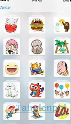 download stickered for messenger cho iphone