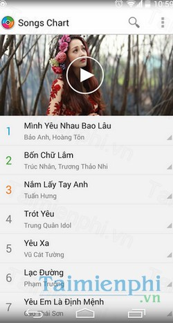 download zing mp3 cho samsung