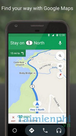 download android auto cho android