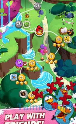 download angry birds blast cho iphone