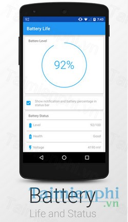 download battery life cho android