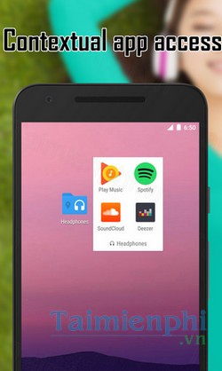 download contextual app folder cho android