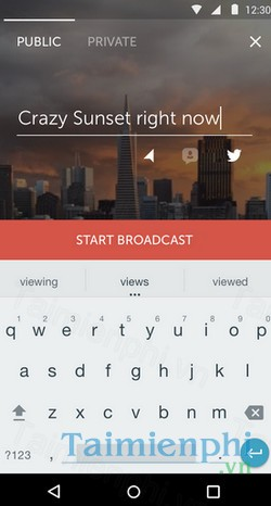 download periscope cho android