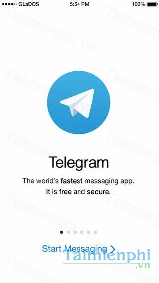 download telegram cho iphone