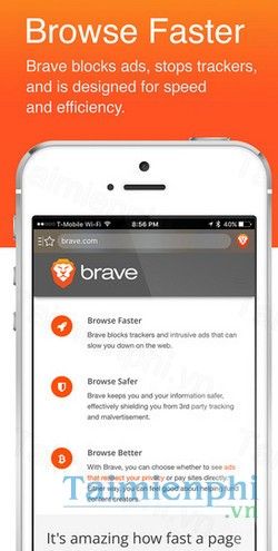 download brave browser cho iphone