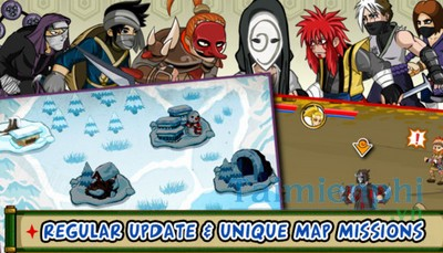 download ninja saga cho iphone