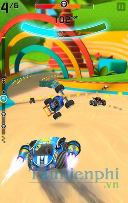 download rocket cars cho iphone