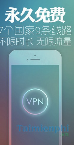 download supe vpn cho iphone