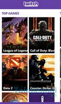 download twitch cho windows phone