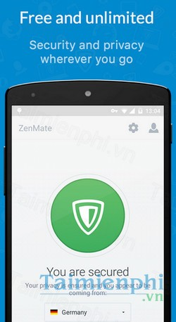 download zenmate cho android