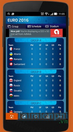 download football live scores cho android