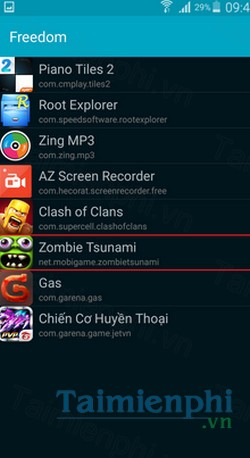 download freedom cho android