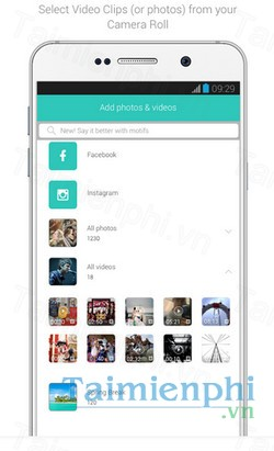 download lomotif cho android