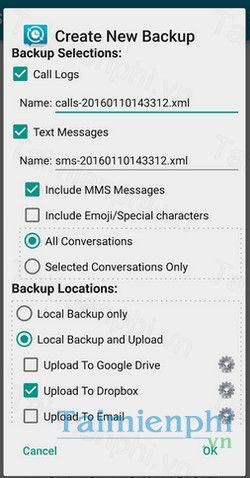 download sms backup and restore cho android