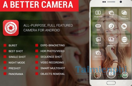 download a better camera cho android