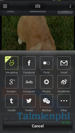 download camera awesome cho android