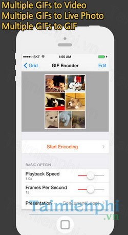download gif toaster cho iphone