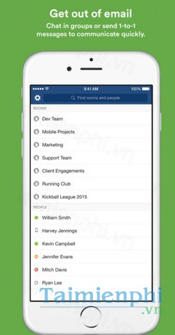 download hipchat cho iphone