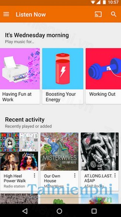 download google play music cho iphone