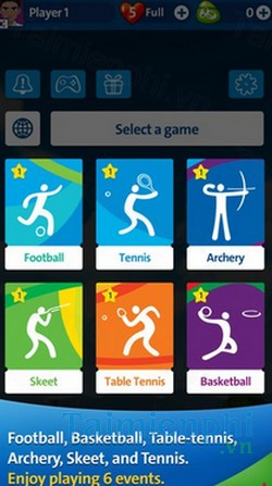 download rio 2016 olympic games cho iphone