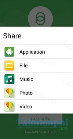 download share link cho android